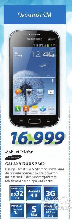MOBILNI TELEFON GSM Smartphone GSM S7562 GALAXY S DUO