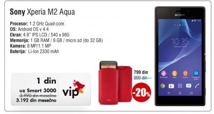 Mobilni telefon Experia M2 Aqua