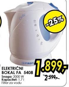 Električni bokal Fa 5408