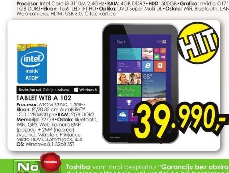 Tablet WT8-A-102