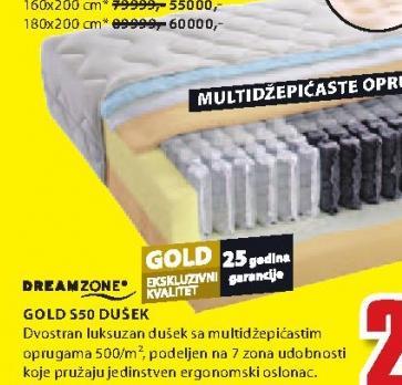 Dušek, Gold S50