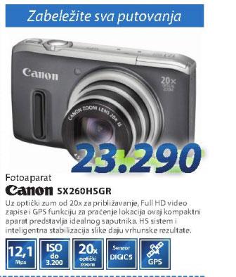 Fotoaparat SH260HSGR