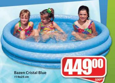 Bazen Cristal Blue