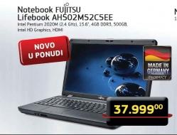 Notebook Lifebook AH502M52C5EE