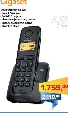 Telefon Dect AL120