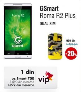 Mobilni telefon GSmart Roma R2 Plus