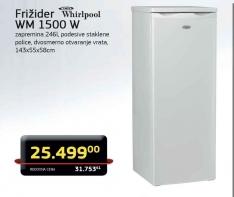 Frižider WM 1500 W