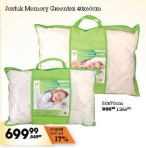 Jastuk Memory 40x60 Greentex