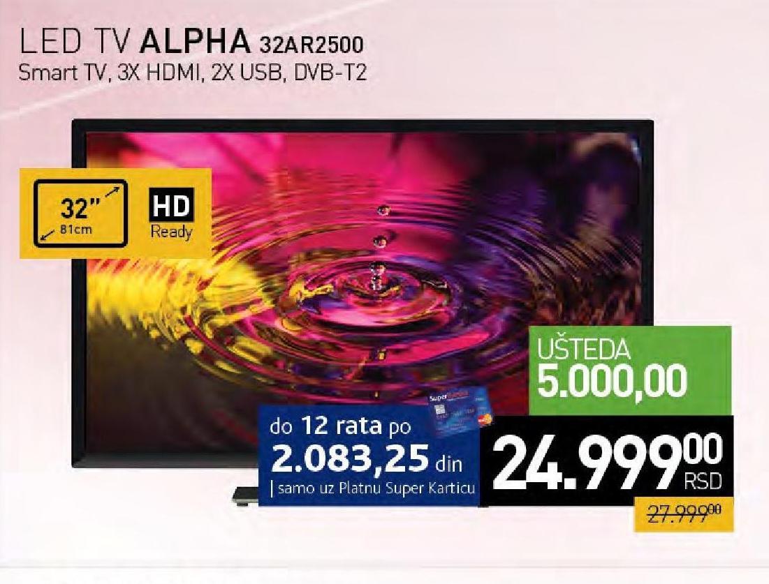 "Televizor LED 32"" 32AR2500"