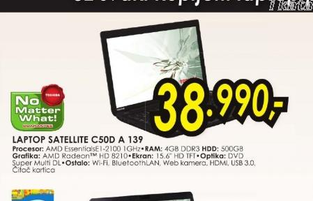 Laptop Satellite C50D-A-139