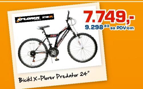 Bicikl X-Plorer Predator 24''