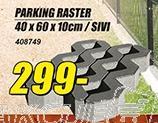 Parking raster