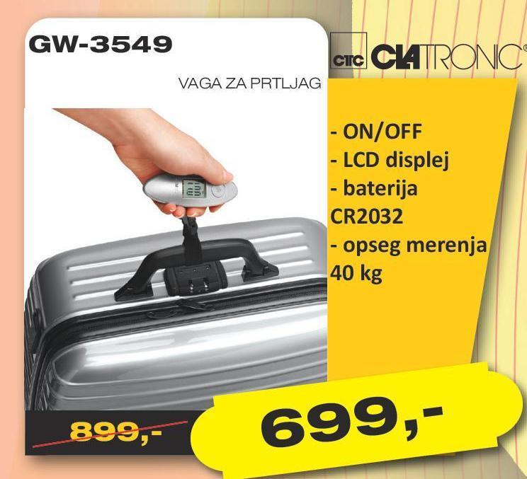 Vaga Gw 3549