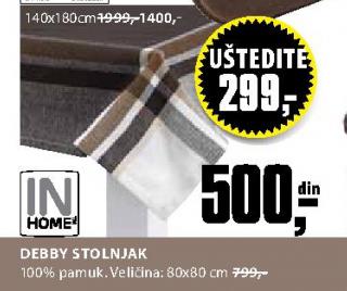 Stolnjak Debby 80x80 cm