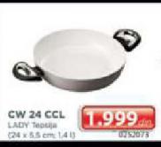Tepsija Lady CW 24 CCL