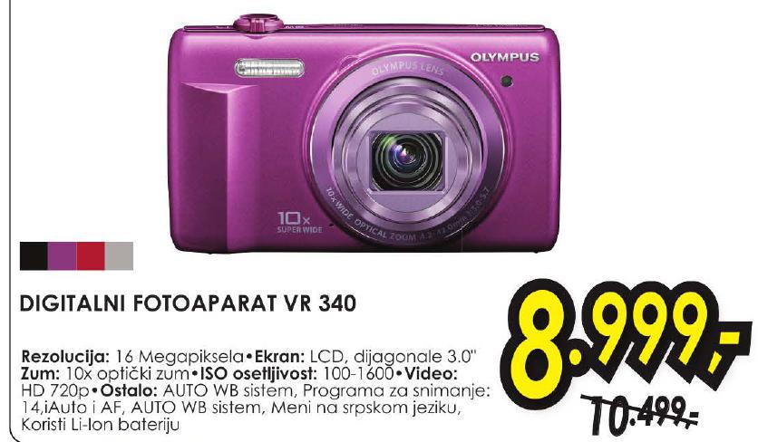 Digitlani fotoaparat VR 340