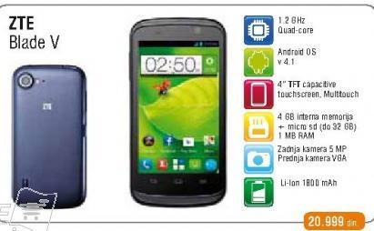 Mobilni Telefon ZTE Blade V