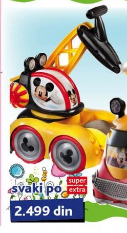 Igračka Bager Disney