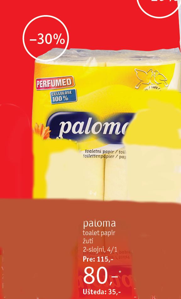 Toalet papir Perfumed