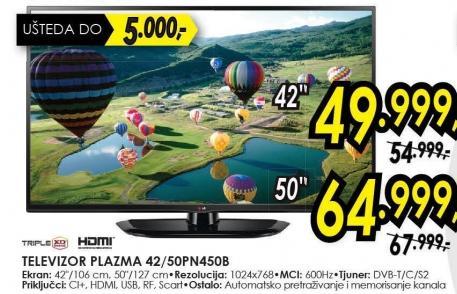"""Televizor Plazma 42"""" pn450b"""