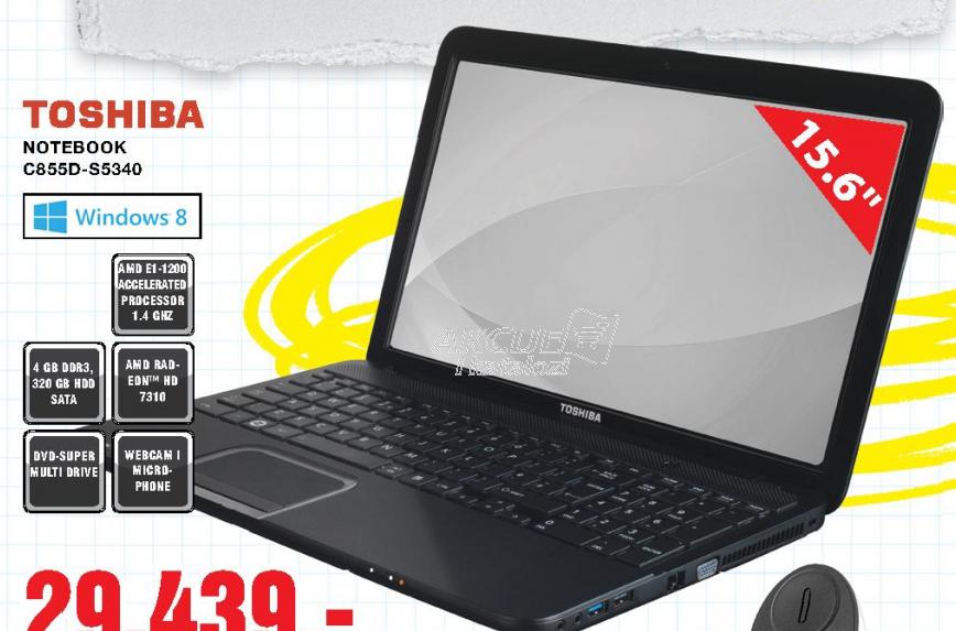 Notebook C855D-S5340