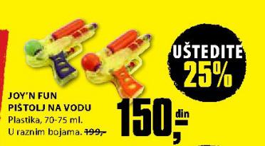 Joy'n'Fun pištolj na vodu