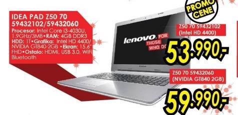 Laptop IdeaPad Z50 70 59432102