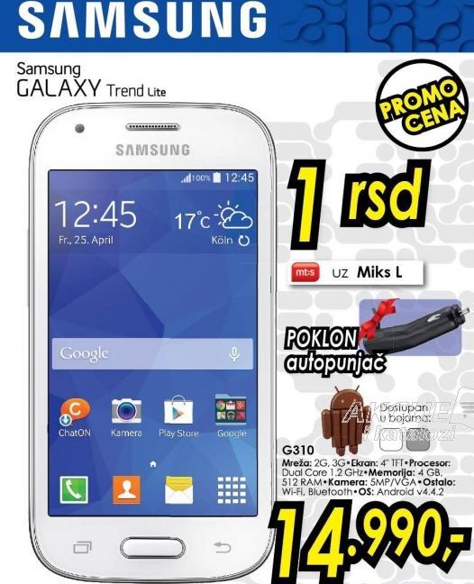 Mobilni telefon Galaxy Trend Lite G310