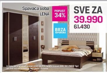 Spavaća soba Lena