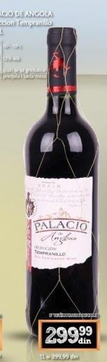Crno vino Palacio De Anglona