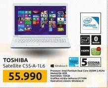 Laptop Satellite  C55-A-1L6