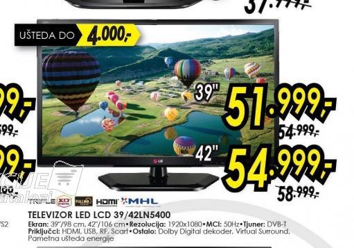 Televizor LED LCD 39LN5400