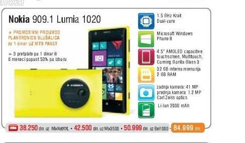Mobilni Telefon  909.1 Lumia 1020