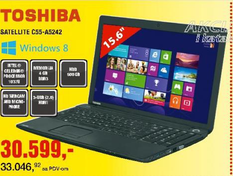 Laptop SatelliteC55-A5242