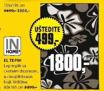 Tepih El 80x166