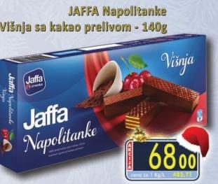 Napolitanke čokolada i višnja
