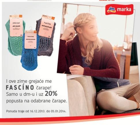 I ove zime grejaće Fascino čarape