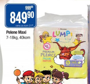 Pelene Maxi Lumpi