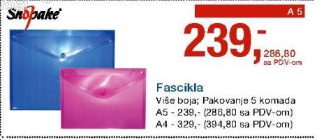 Fascikla A5