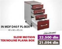 Kuhinjski element In Mdf D40f Pl-box Moka