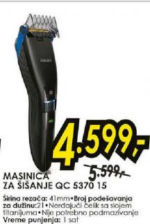 Mašinica za šišanje QC 5330/15
