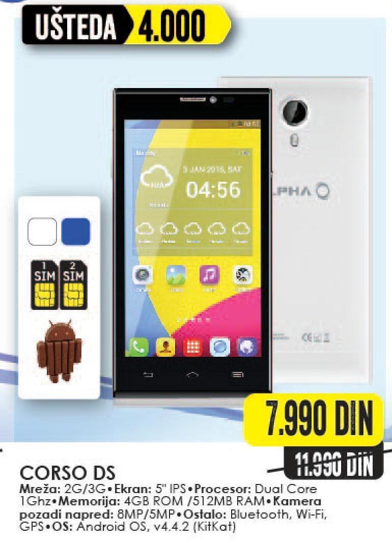 Mobilni telefon Corso DS