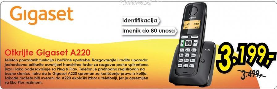 Bezicni telefon Gigaset A220