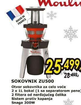 Sokovnik ZU500
