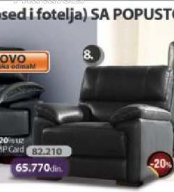 Fotelja Milan