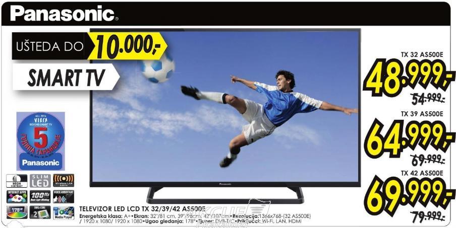 """Televizor LED 42"""" Tx 42 As500e"""