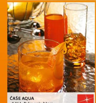 Čaša Aqua
