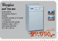 Sudomašina Adp750Wh