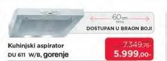 Aspirator DU611W