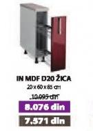 Kuhinjski element In Mdf D20 Žica Moka